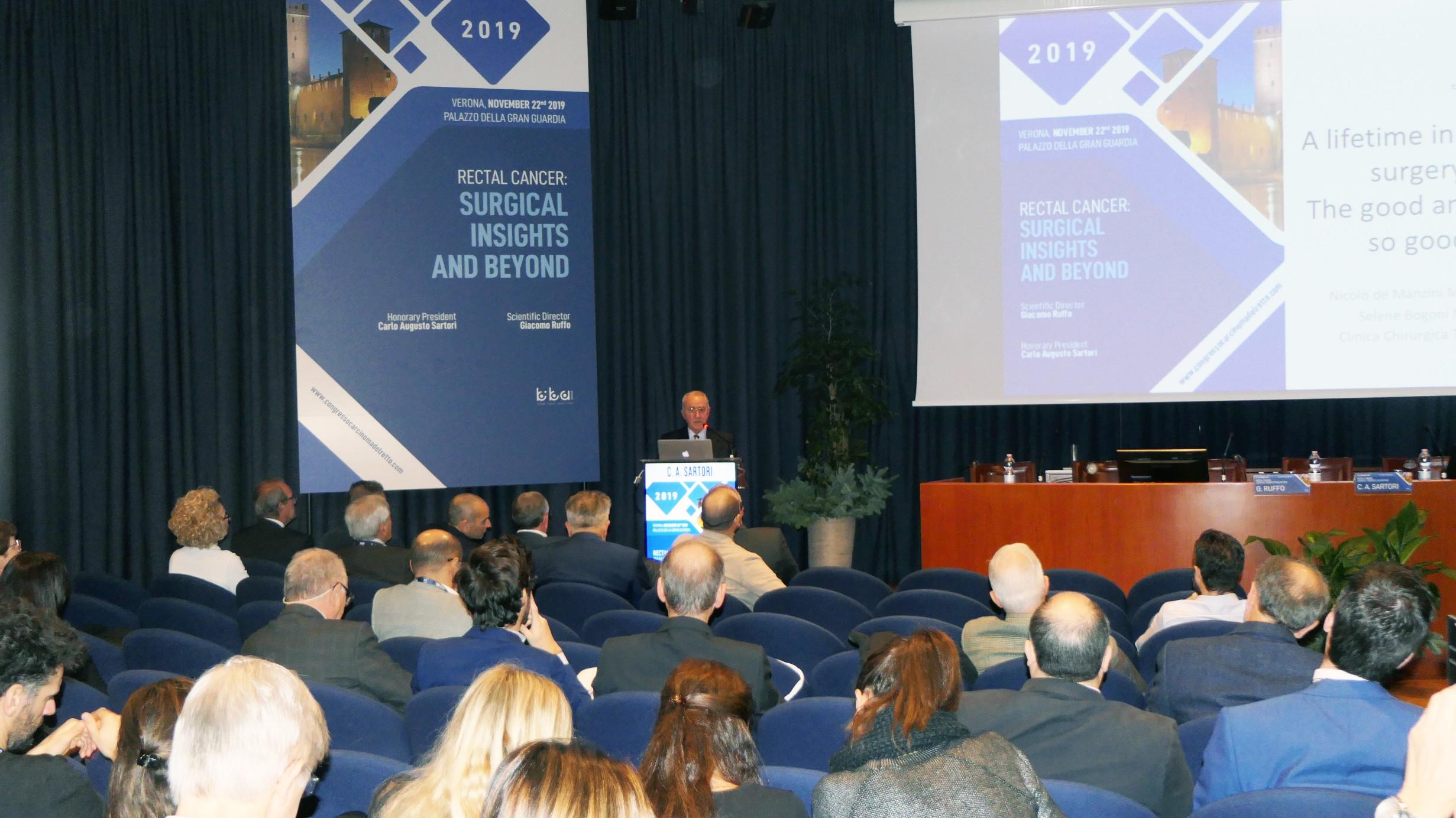 Congresso chirurgia del retto IRCCS Ospedale Sacro Cuore Don Calabria