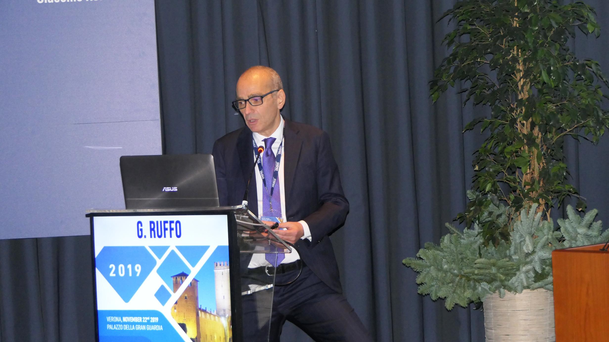 Giacomo Ruffo, direttore della Chirurgia generale IRCCS Ospedale Sacro Cuore Don Calabria