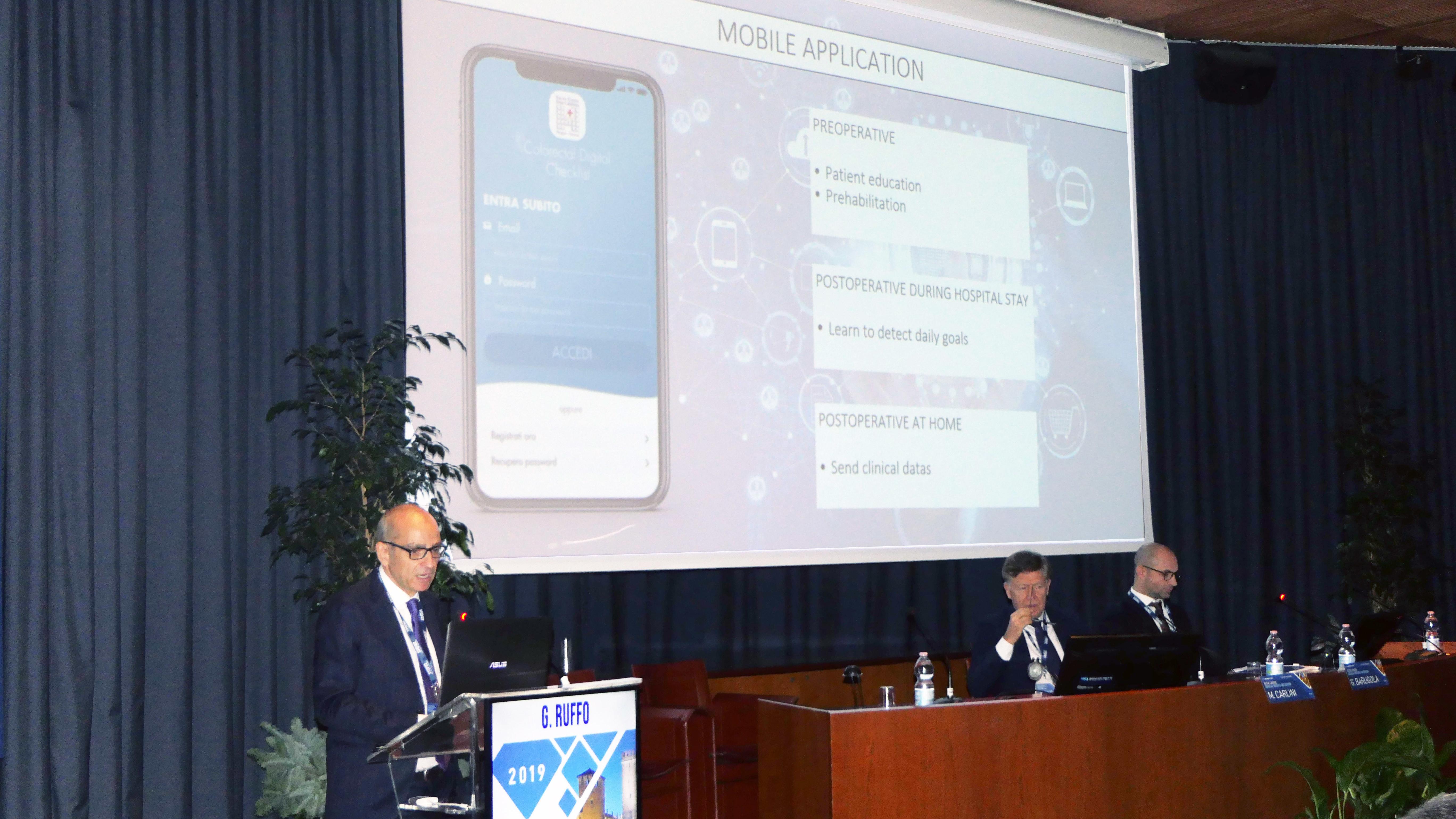 Giacomo Ruffo, direttore della Chirurgia generale IRCCS Ospedale Sacro Cuore Don Calabria di Negrar