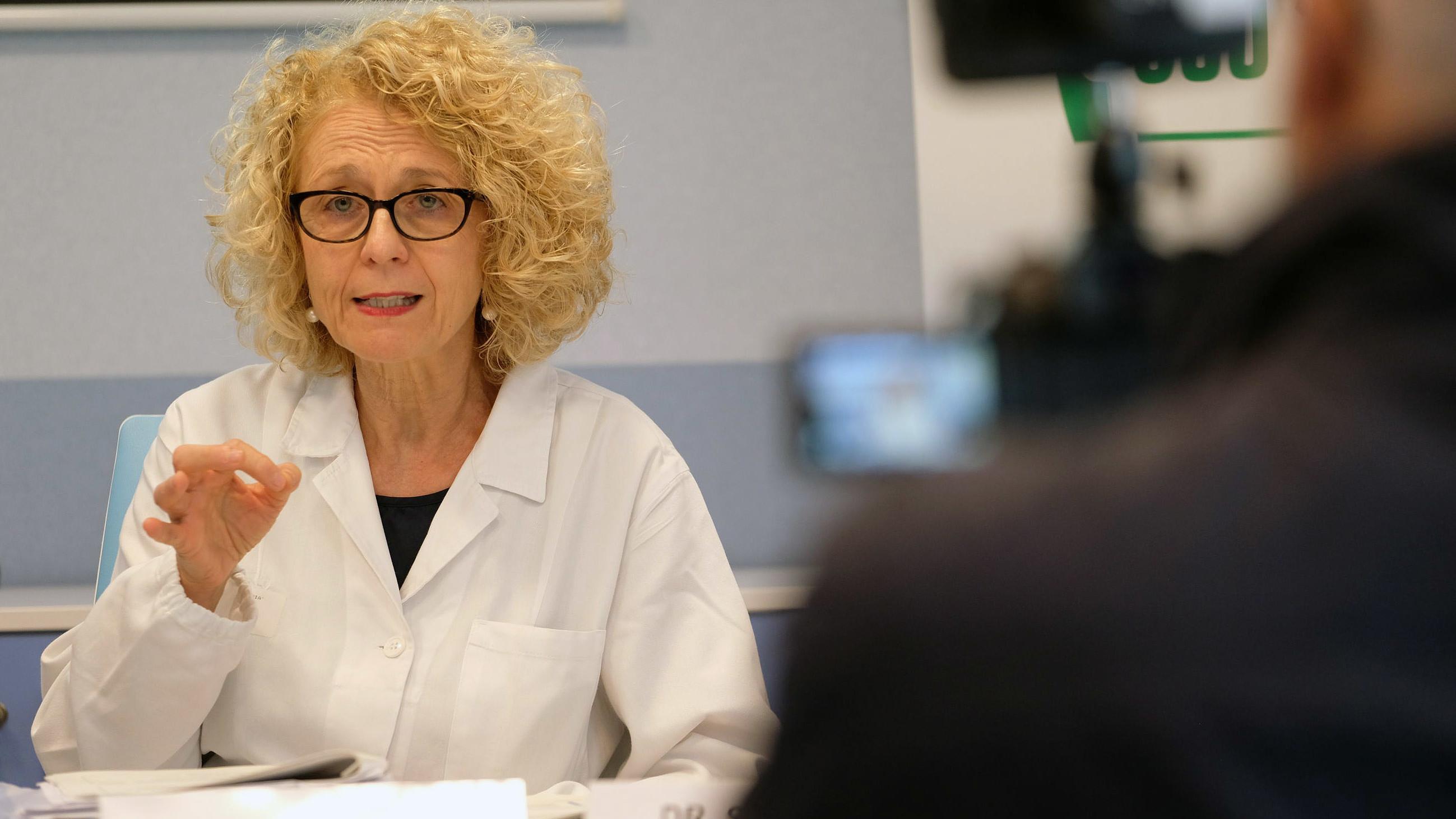 Stefania Gori, direttore Oncologia Madica Irccs Ospedale Sacro Cuore Don Calabria di Negrar