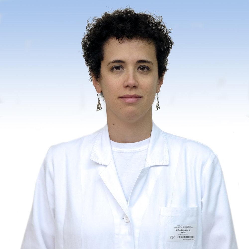 Giulia Airaghi, oculista IRCCS Ospedale Sacro Cuore Don Calabria di Negrar