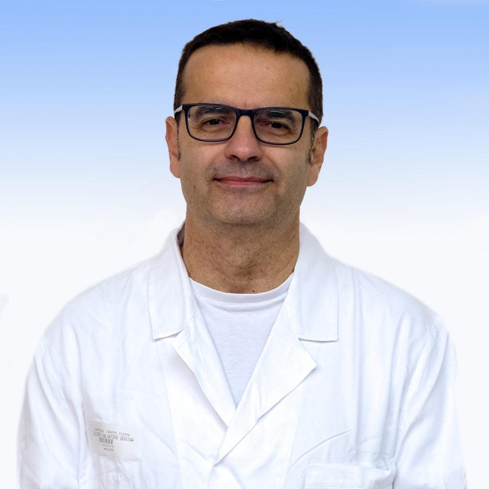 Giuseppe Bogina, anatomopatologo Irccs ospedale Sacro Cuore Don Calabria di Negrar