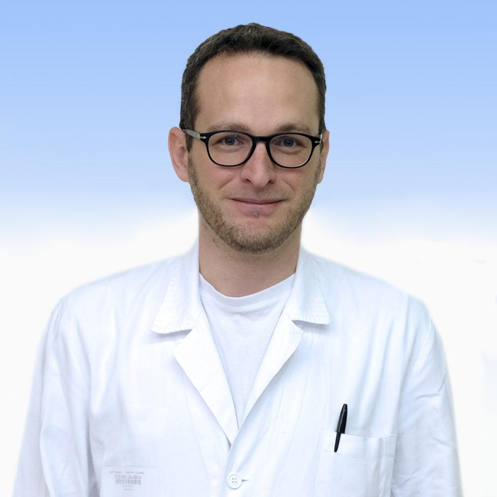 Stefano Calabria, medico di Medicina Generale dell'IRCCS Ospedale Sacro Cuore Don Calabria di Negrar