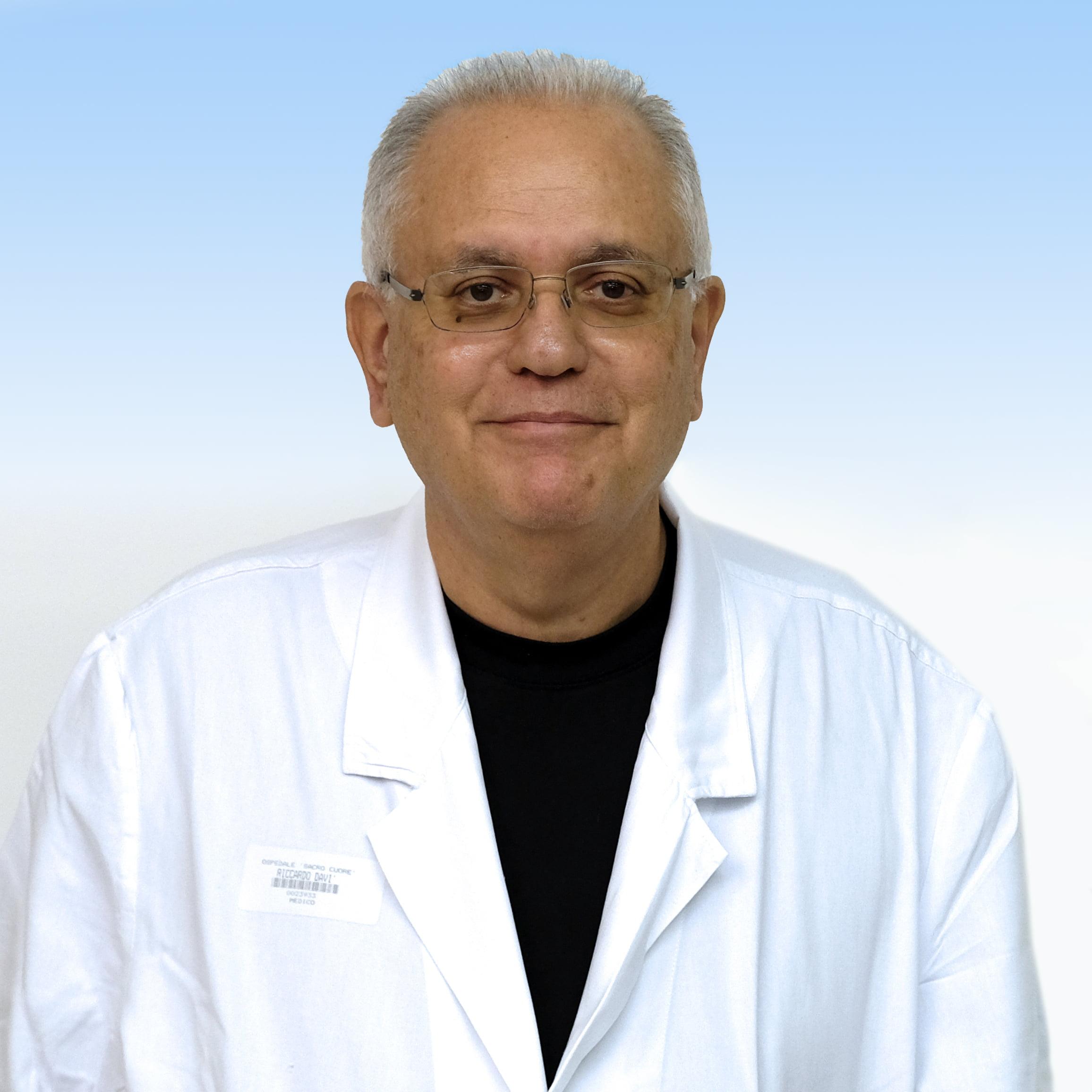 Dottor Riccardo Davi, medico del Pronto Soccorso Irccs Sacro Cuore Don Calabria