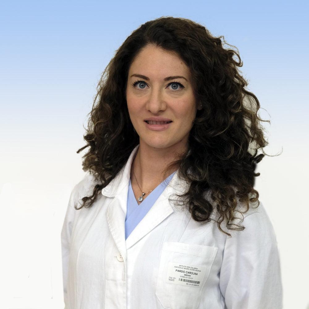 Carolina Pardi, chirurgo plastico IRCCS Ospedale Sacro Cuore Don Calabria di Negrar