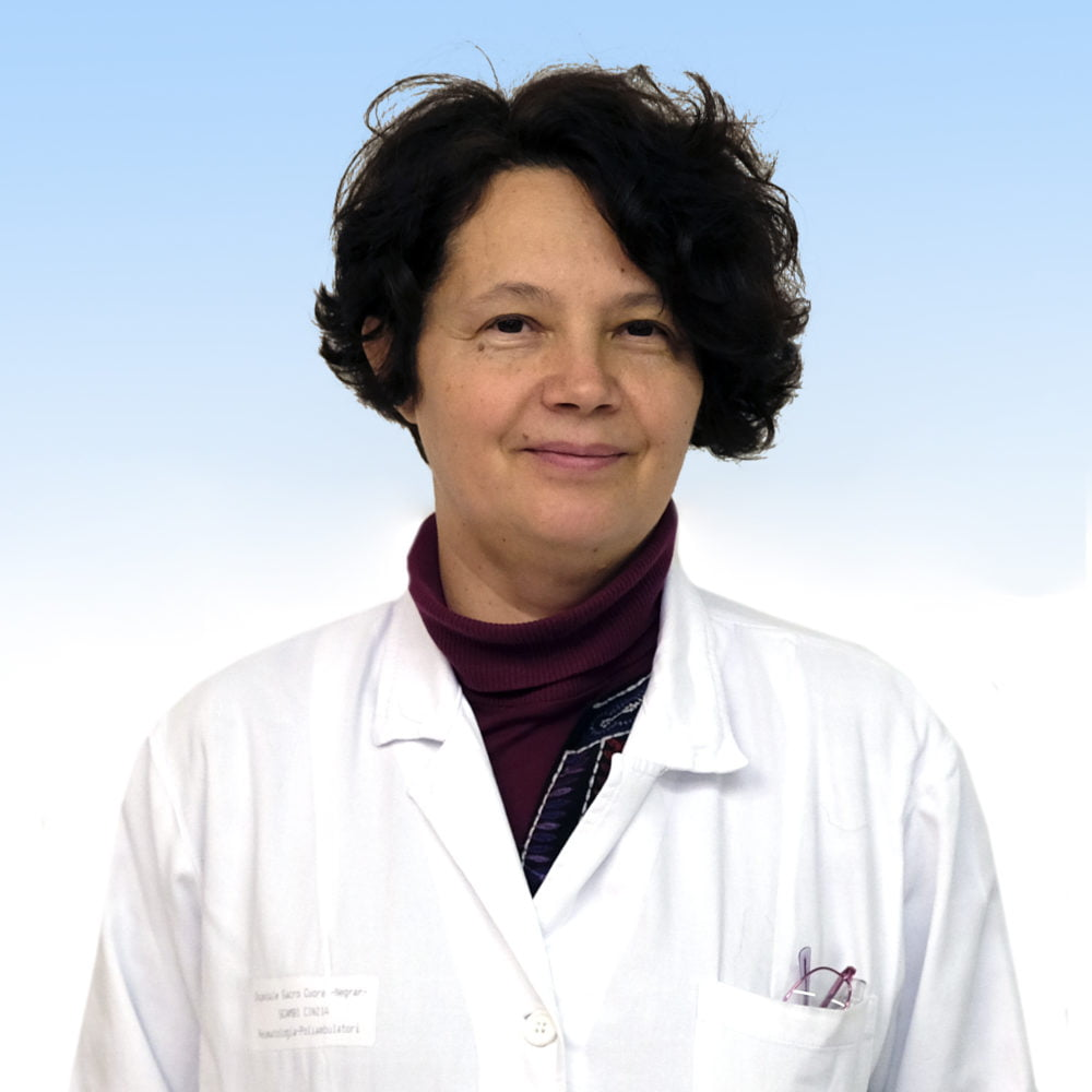Cinzia Scambi, reumatologa dell'IRCCS Ospedale Sacro Cuore Don Calabria di Negrar