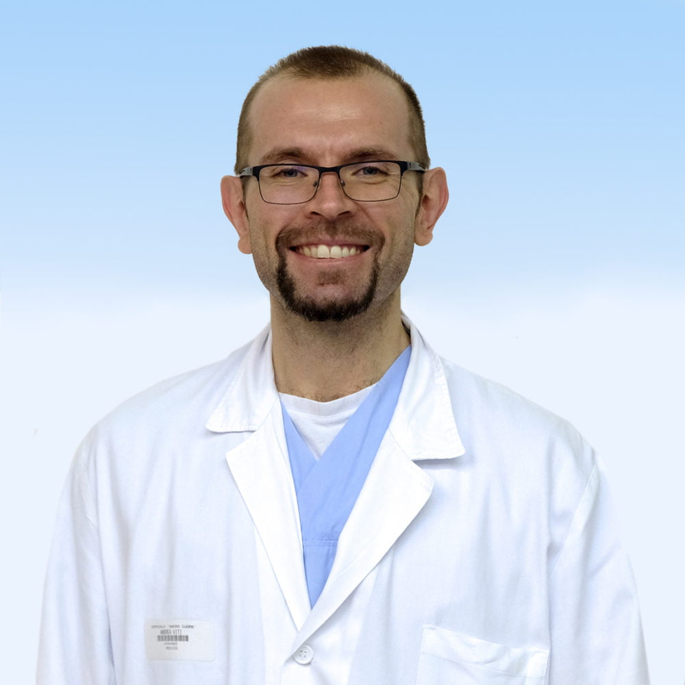 Andrea Viti, chirurgo toracico IRCCS Ospedale Sacro Cuore Don Calabria di Negrar