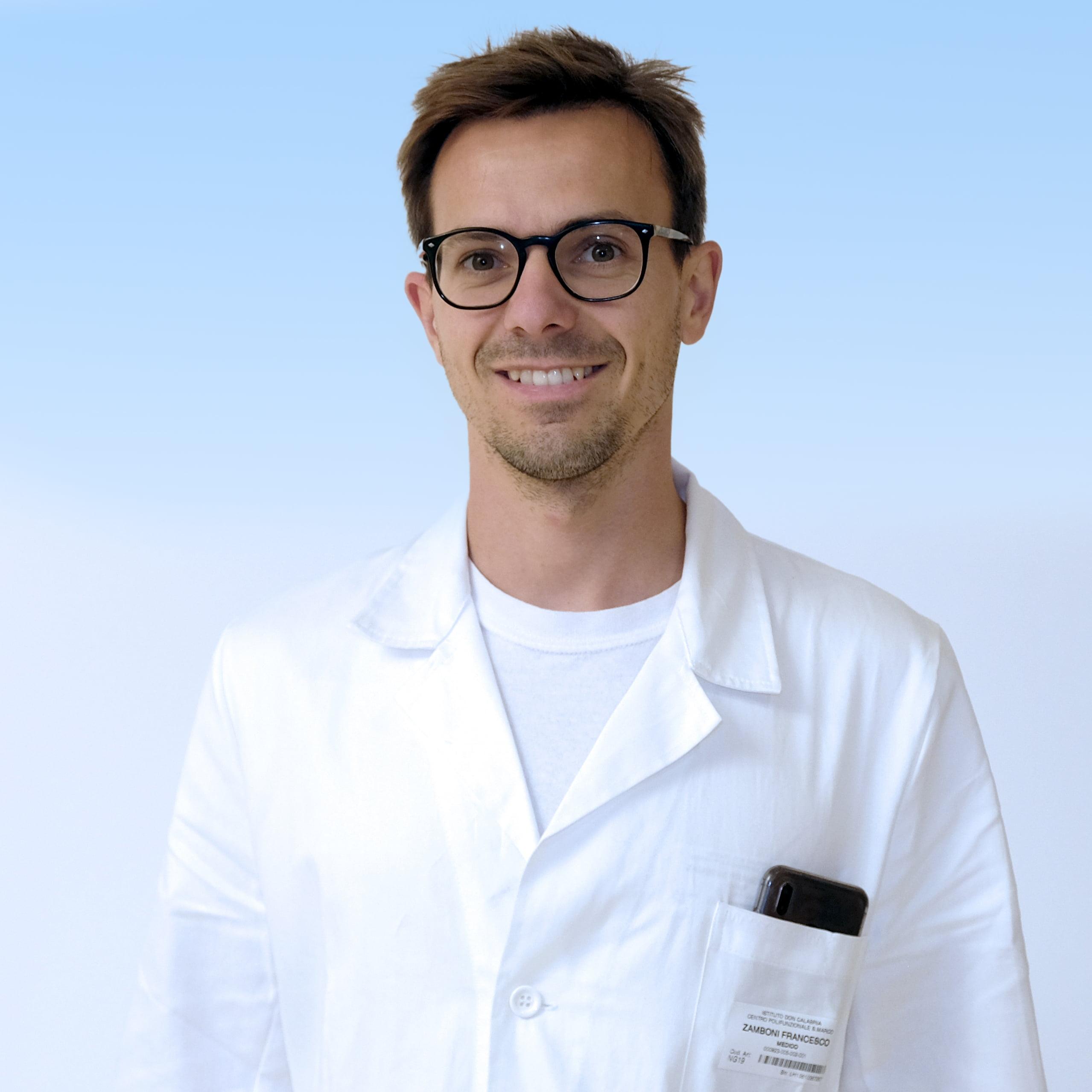 Francesco Zamboni, radiologo IRCCS Ospedale Sacro Cuore Don Calabria