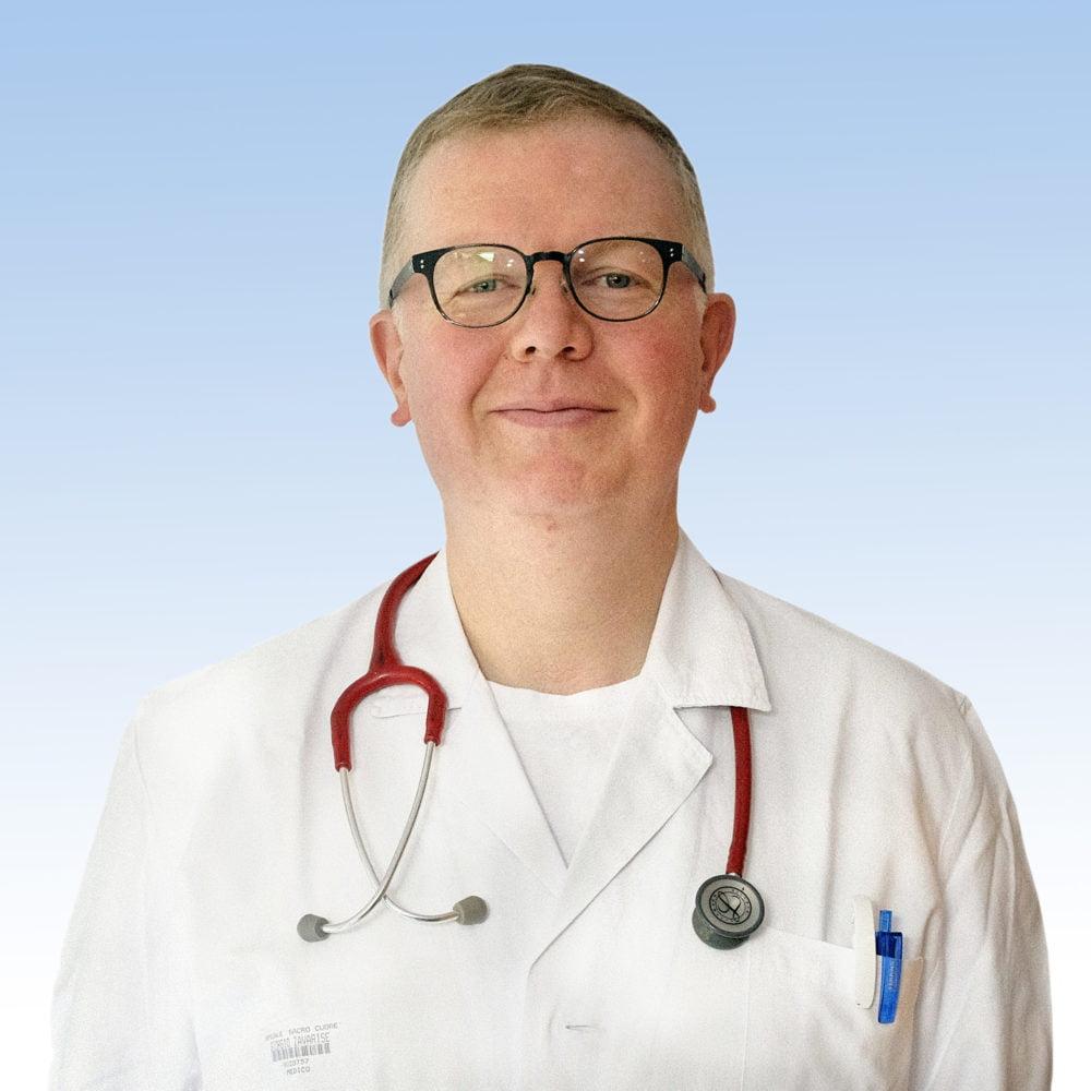 Giorgio Zavarise, Pediatra IRCCS Ospedale Sacro Cuore Don Calabria di Negrar