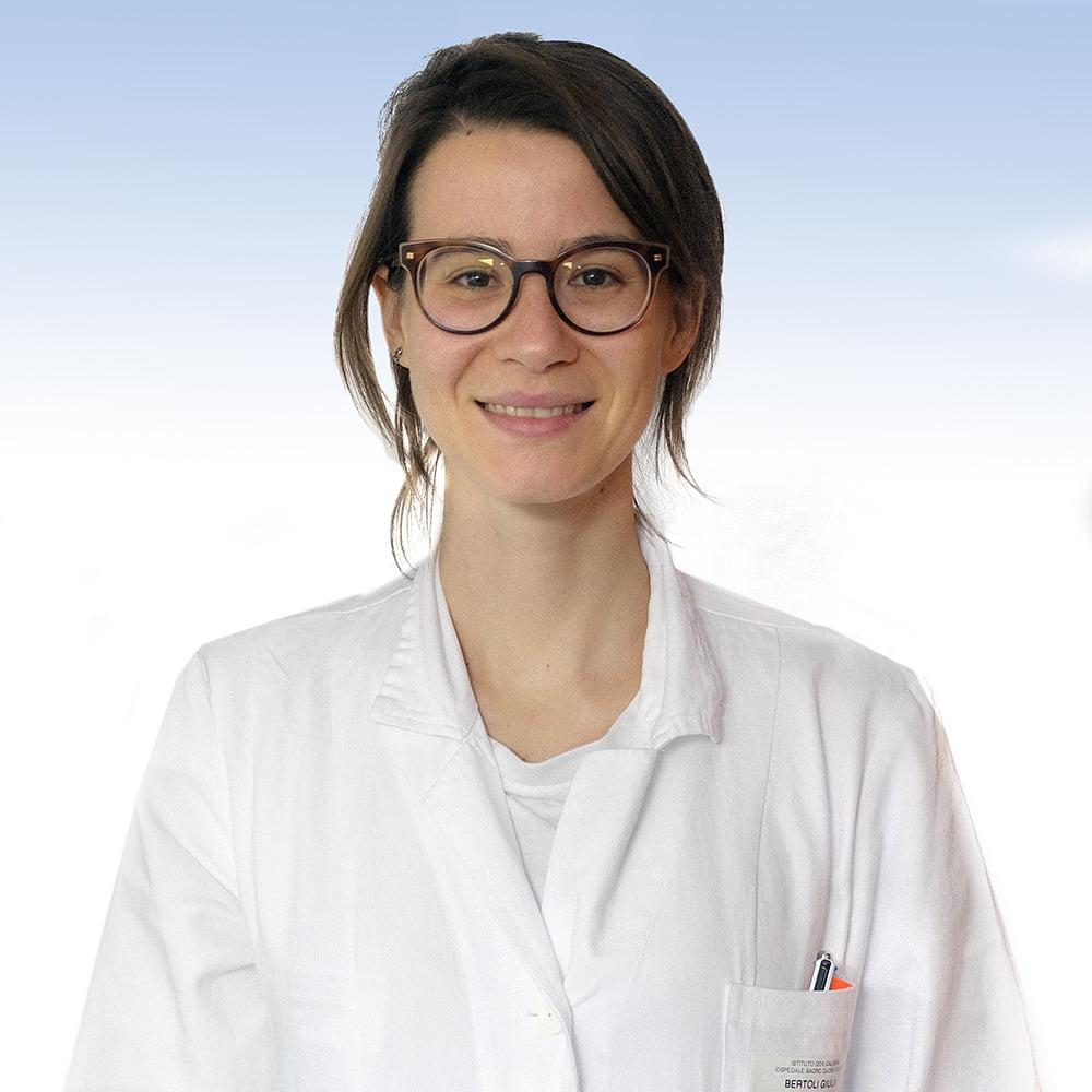 Giulia Bertoli, infettivologa irccs oSPEDALE sACRO CUORE DON CALABRIA DI nEGRAR