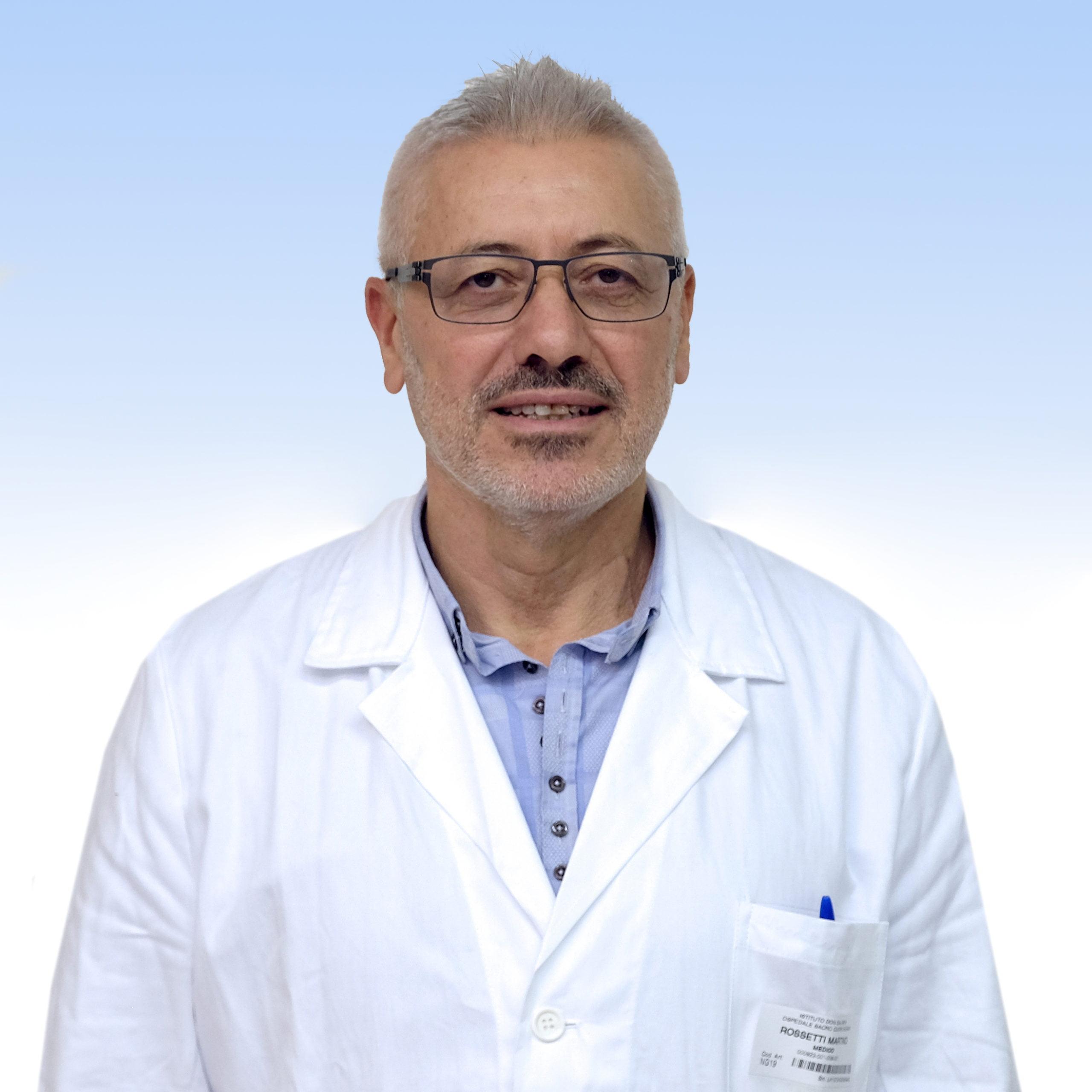 Martino Rossetti, medico di Laboratorio IRCCS Ospedale Sacro Cuore Don Calabria di Negrar