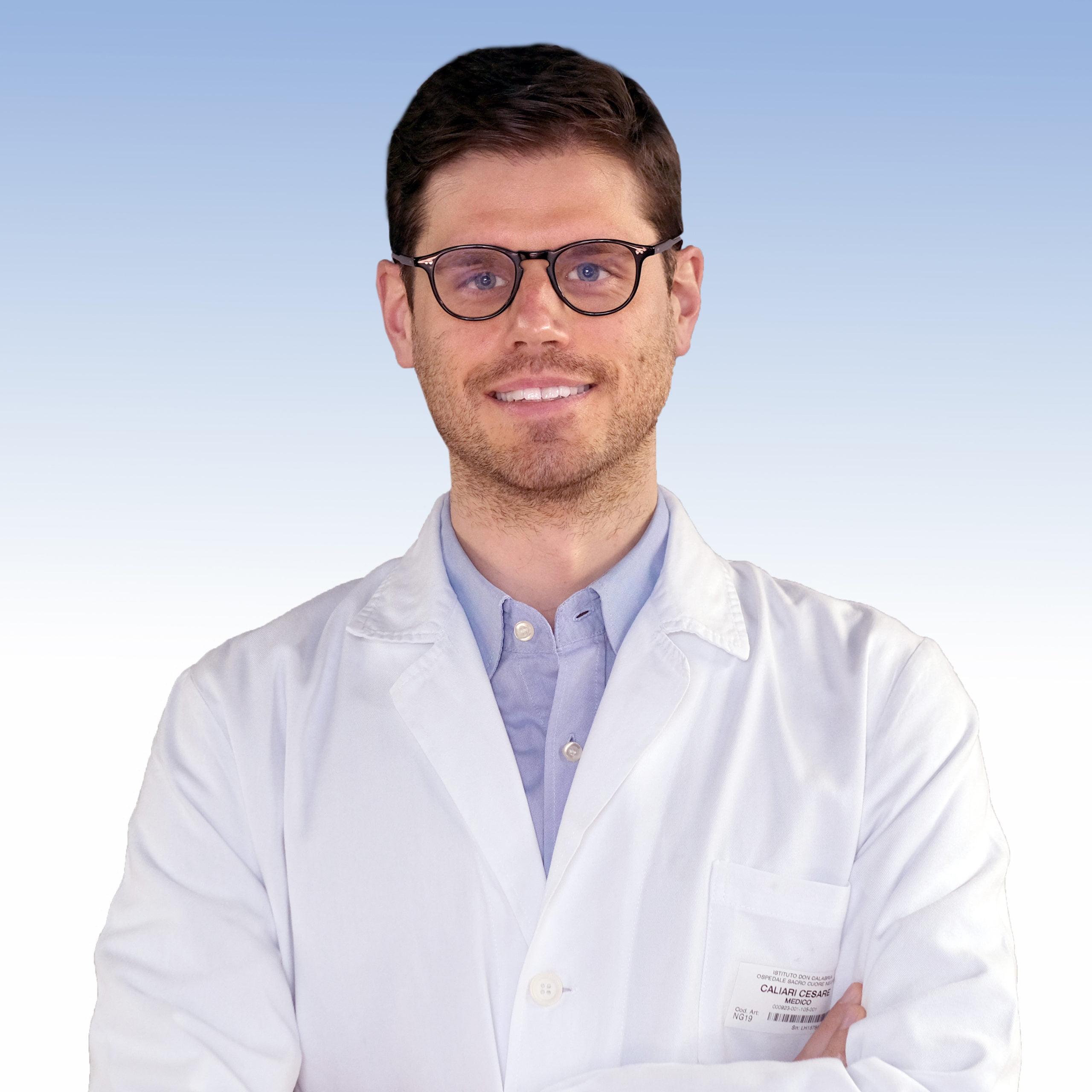 Dottor Cesare Caliari, geriatra dell'IRCCS Sacro Cuore Don Calabria