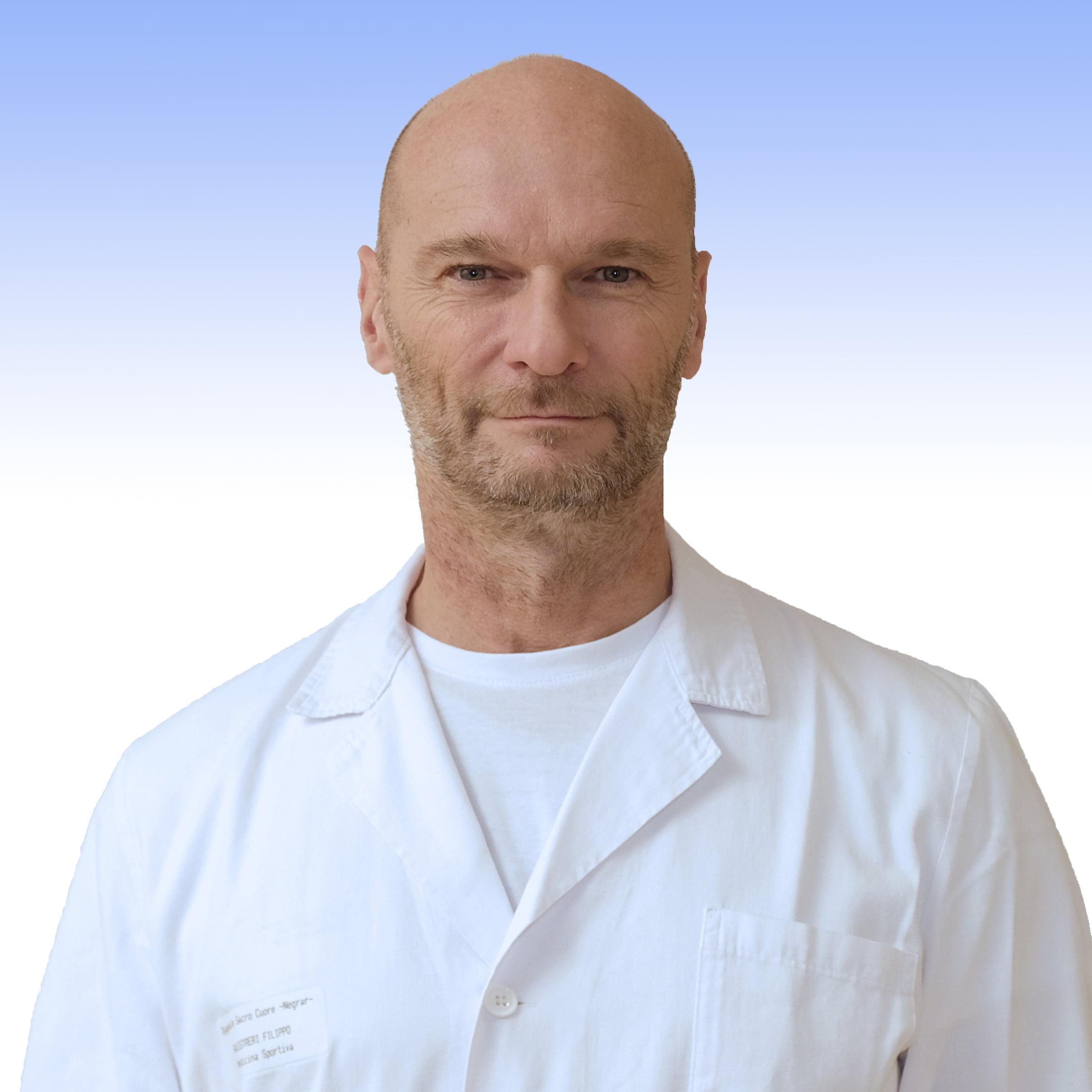 Dottor Filippo Balestrieri, fisiatra dell'IRCCS Ospedale Sacro Cuore Don Calabriadi Negrar
