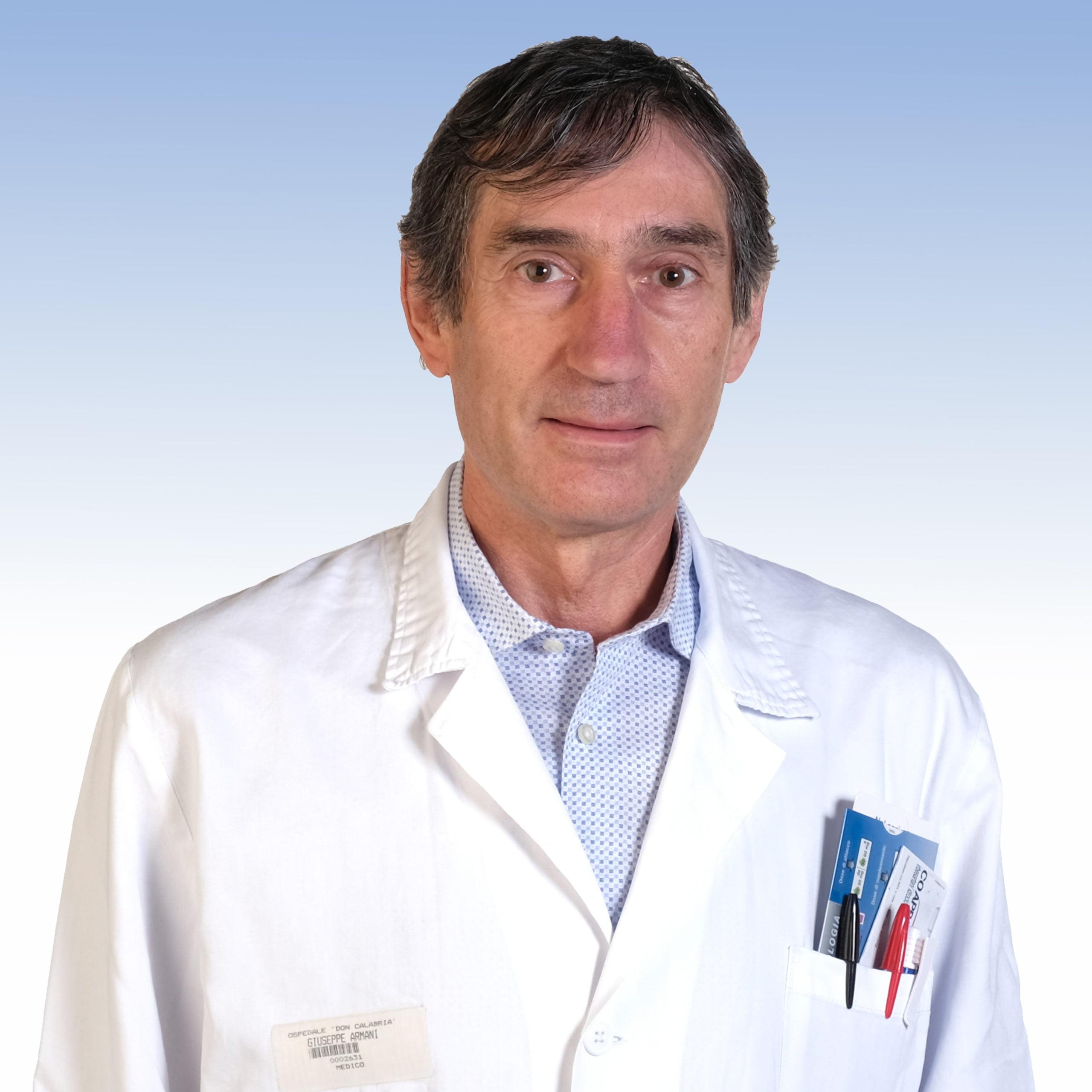 Dottor Giuseppe Armani, direttore della Riabilitazione Intensiva dell'Irccs Ospedale Sacro Cuore Don Calabria di Negrar