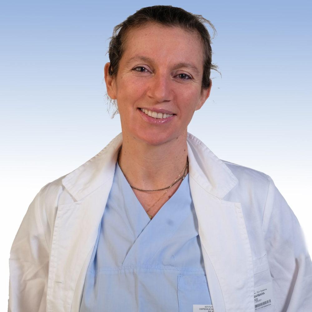 Dottoressa Barbara Canneto, chirurgia toracica dell'Irccs Ospedale Sacro Cuore Don Calabria