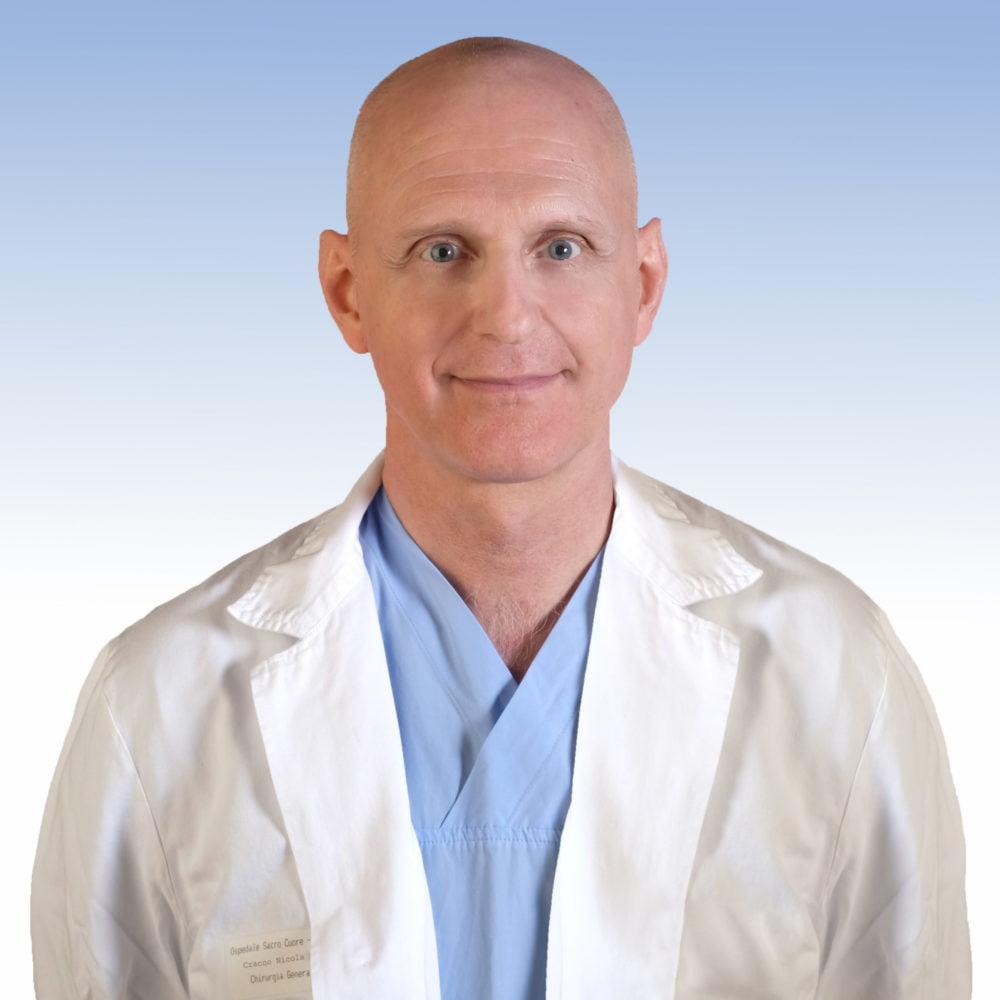 Dottor Nicola Cracco, Chirurgia Generale dell'IRCCS Ospedale Sacro Cuore Don Calabria