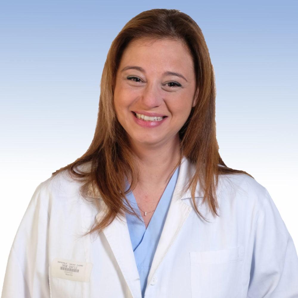dottoressa Irene Gentile, Chirurgia Generale dell'IRCCS Ospedale Sacro Cuore Don Calabria