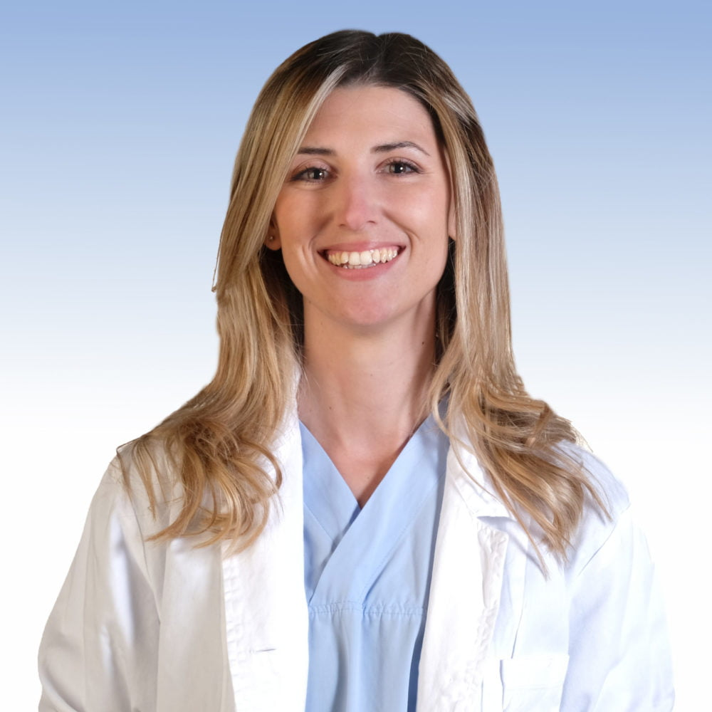 Dottoressa Gaia Masini, chirurgia generale dell'Irccs Ospedale Sacro Cuore Don Calabria