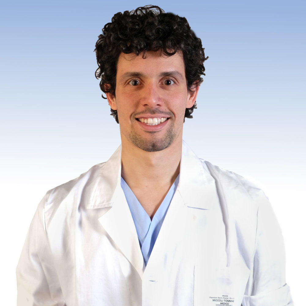 Dottor Tommaso Miccoli, chirugia vascolare Irccs Ospedale Sacro Cuore Don Calabria