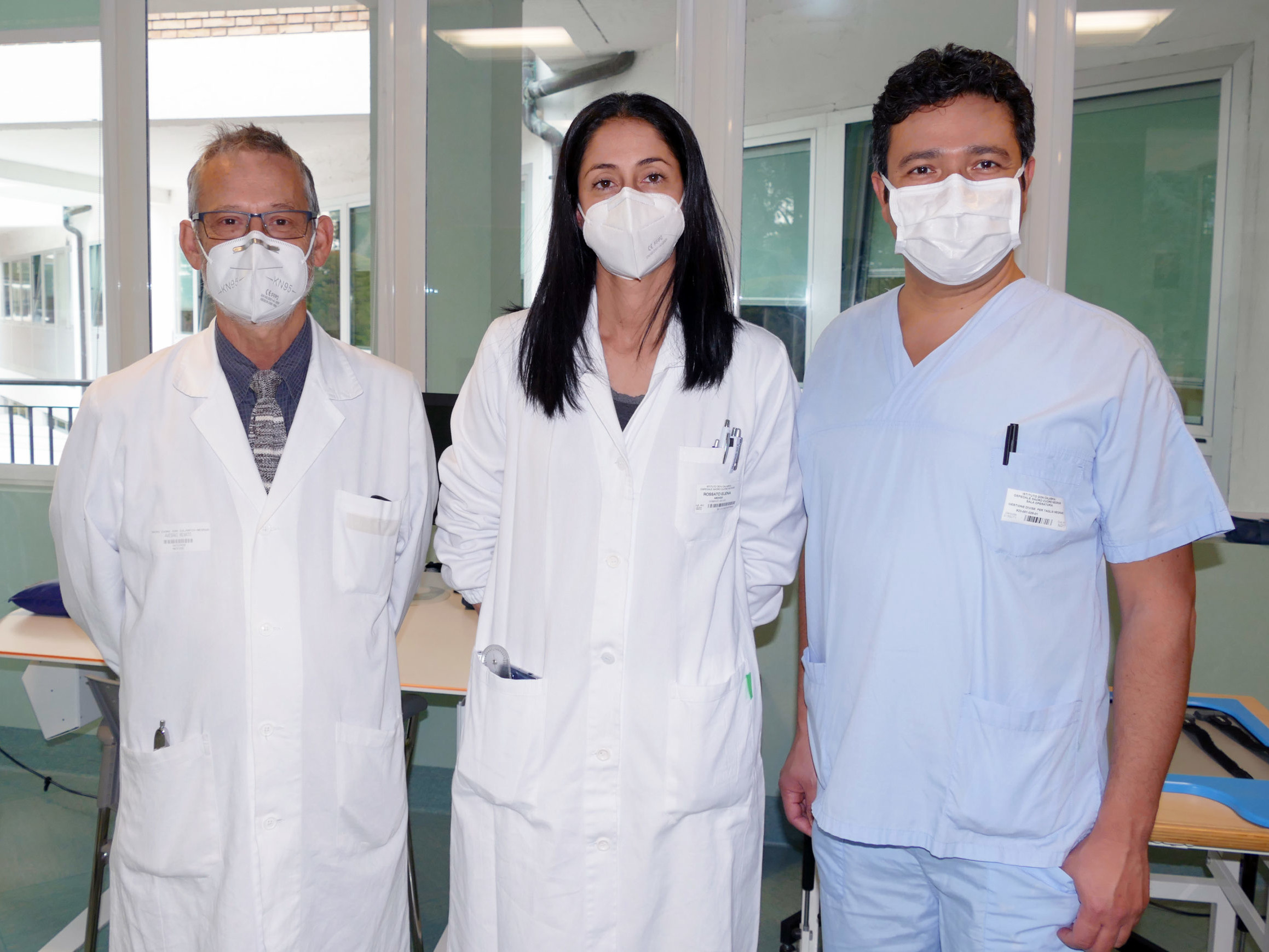 L'équipe di chirurgia funzionale dell'IRCCS Sacro Cuore Don Calabria di Negrar