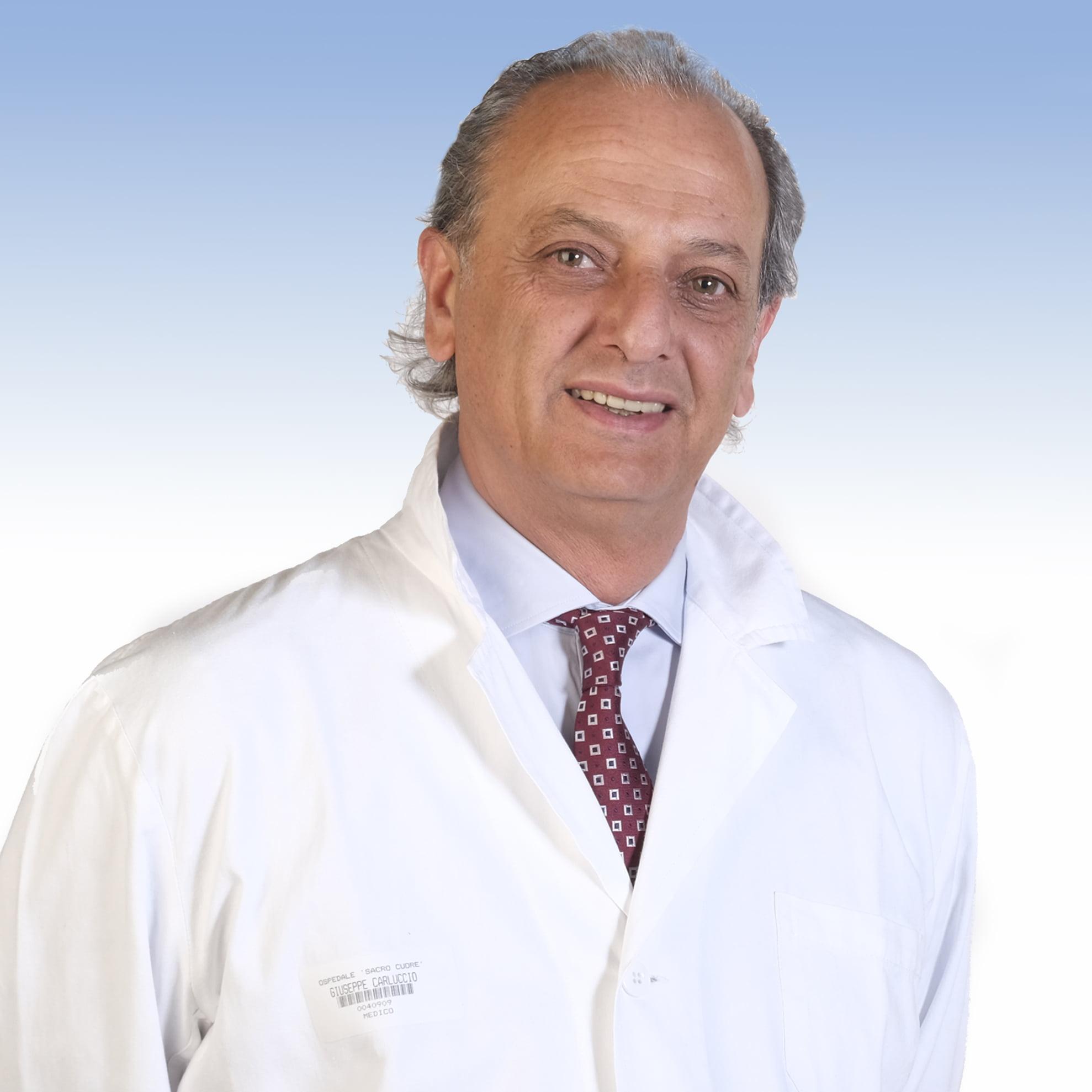 Giuseppe Carluccio, urologo dell'Irccs ospedale Sacro Cuore Don Calabria