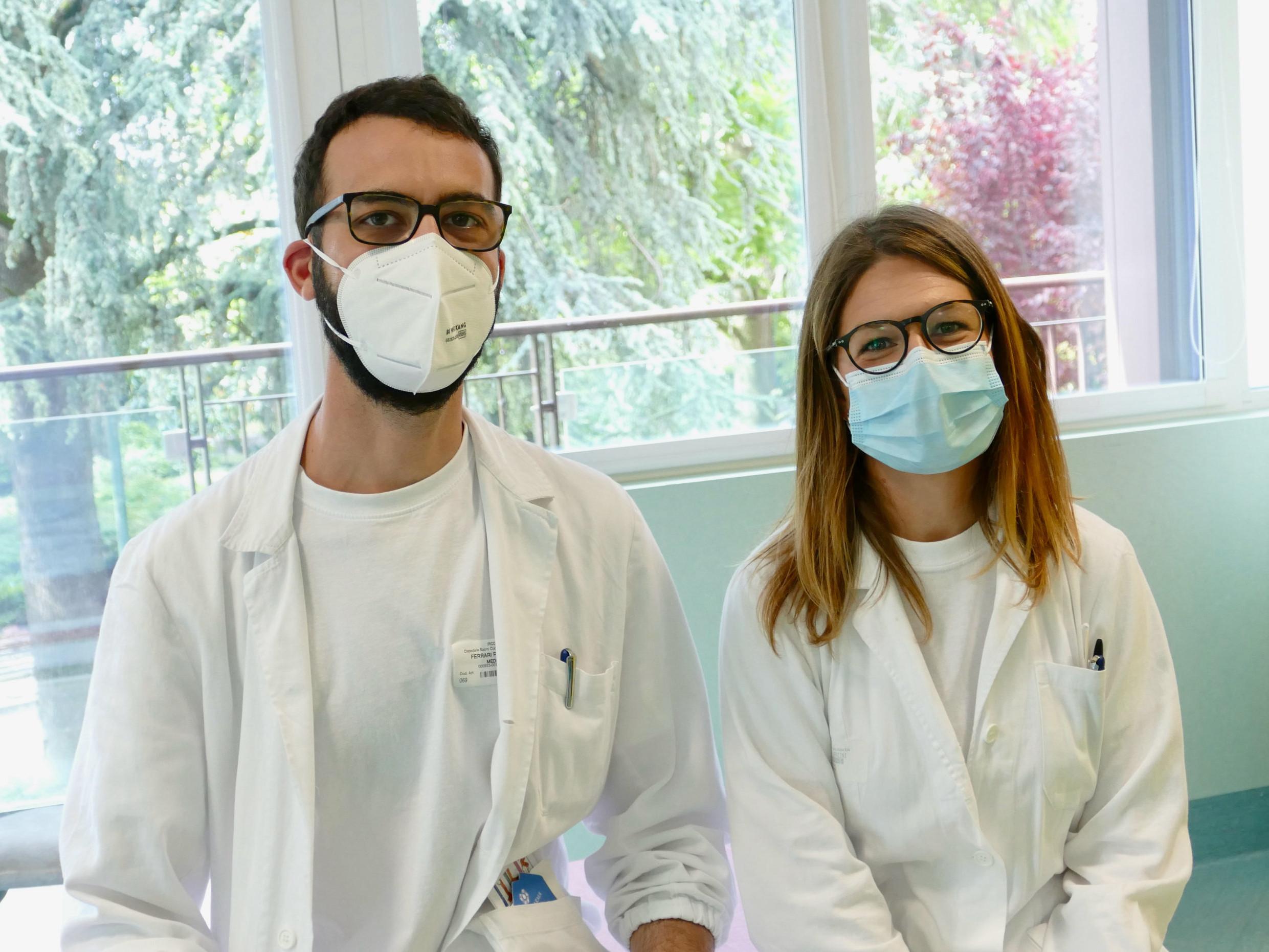 Federico Ferrari ed Elisabetta Verzini