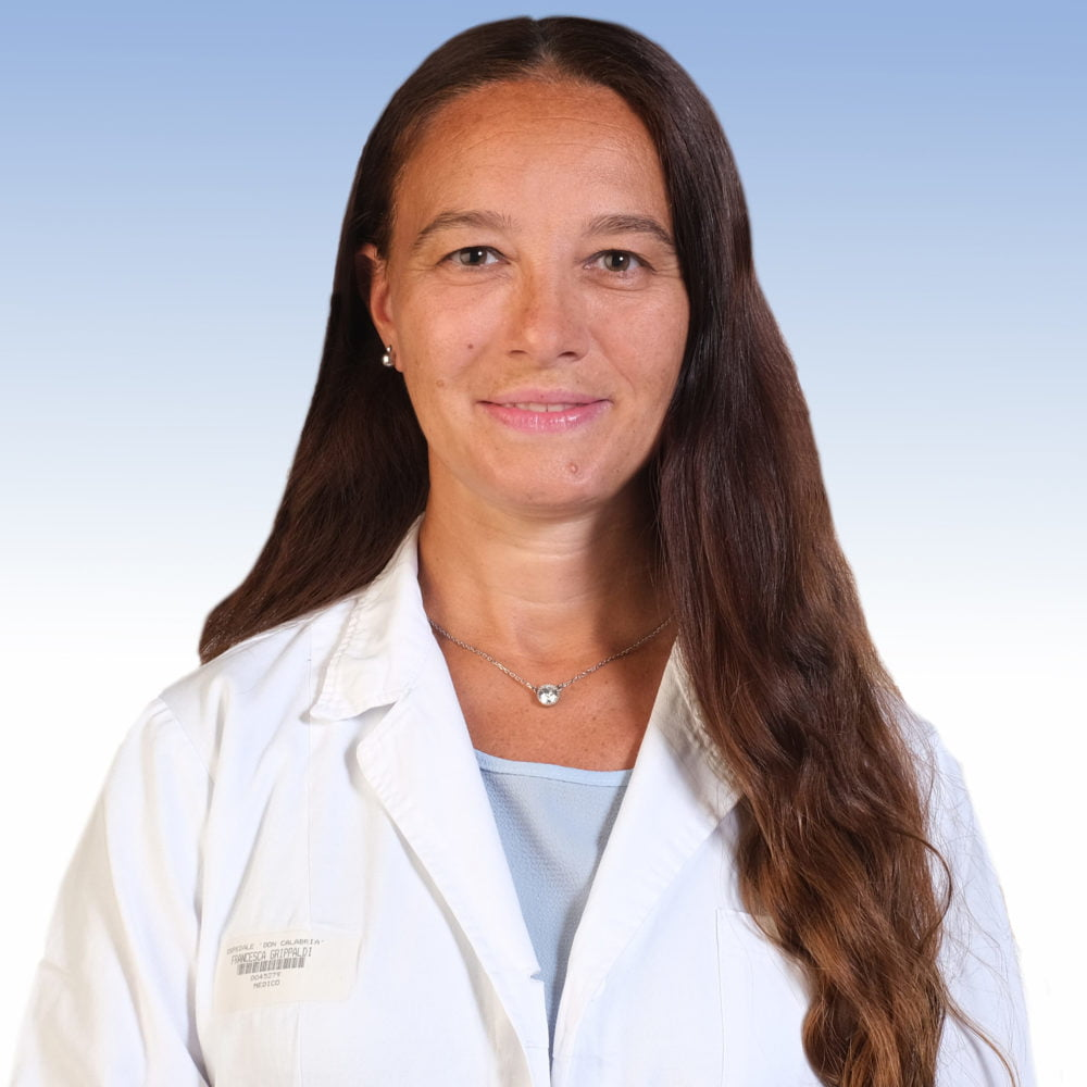 Dottoressa Francesca Grippaldi, diabetologa dell'IRCCS Ospedale Sacro Cuore Don Calabria